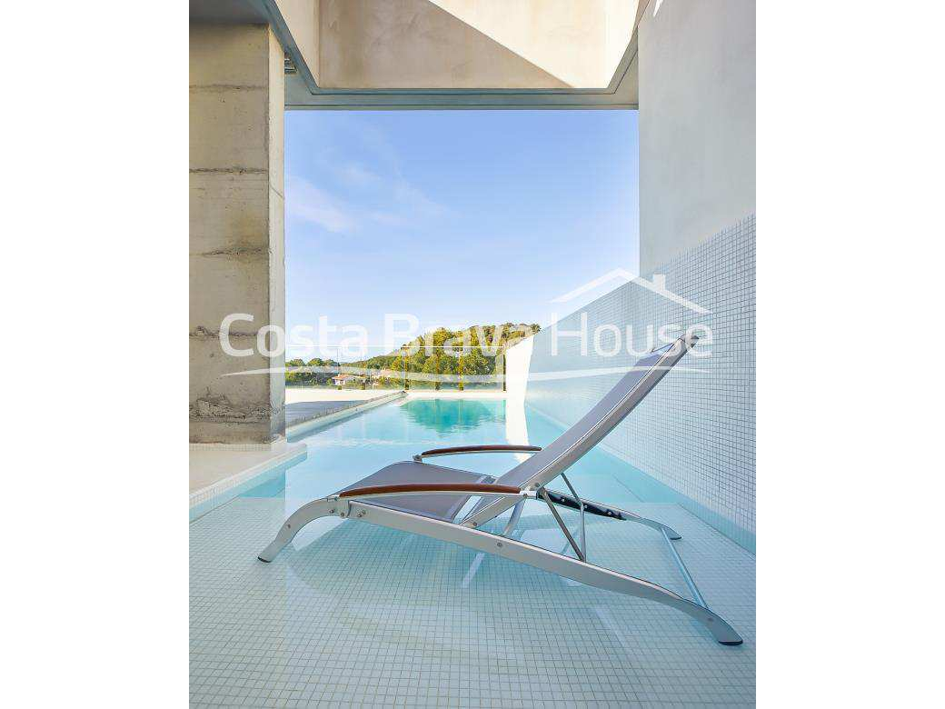 Luxury designer house for sale in Tamariu with sea views and pool