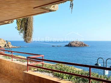 Appartement en bord de mer avec terrasse et parking à Tossa de Mar