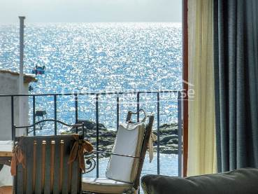 Spectacular front line sea view apartment for sale in Calella