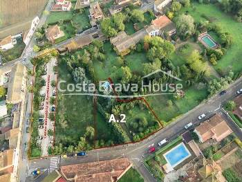 Buildable land for sale in the center of Pals, in Baix Empordà